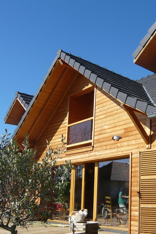Constructeur de maison bois for Constructeur maison bois 51